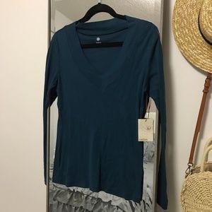 Dark Blue Long Sleeve Shirt